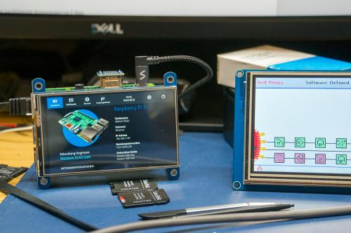 Ras-PI3 mit Win-IoT (Microweich) im Einsatz..