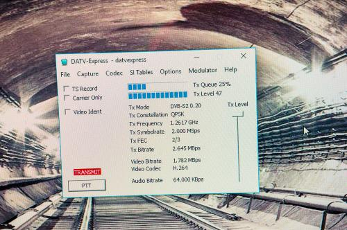 DATV-Express  TX-Software