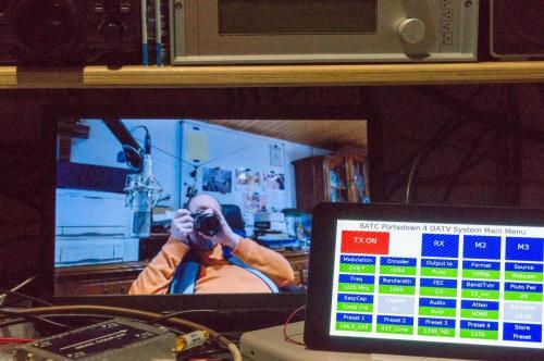 Pluto und 920 Webcam direkt per USB am Portsdown...