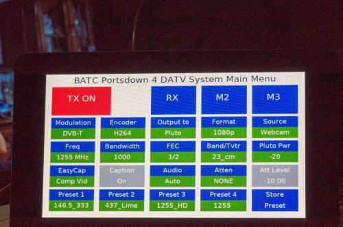 Erste Schritte mit PD und DBV-T ! TX=Pluto und RX HIDES HV-122A